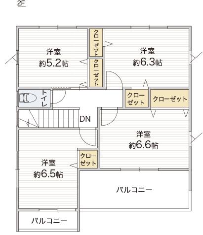 正方形の空間は、長方形の空間に比べてコンパクトで機能的に過ごせる空間